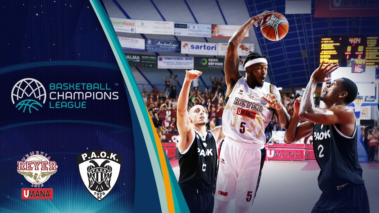 08575158b0 Umana Reyer Venezia v PAOK boxscore - Basketball Champions League 2018-19 -  9 October - Basketball Champions League 2018-19