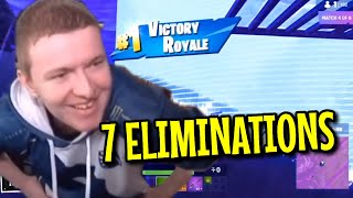 VIVID WINS THE SECRET SKIRMISH WITH 7 ELIMINATIONS AMAZING!!! FORTNITE FUNNY FAILS