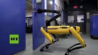 El robot SpotMini de Boston Dynamics muestra su nueva habilidad