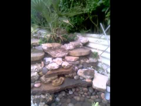 Tiny Waterfall And Pond Solar Ed Pump