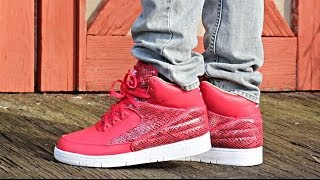 various colors c6916 39acd Nike Air Python Prm Red Review
