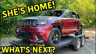 Rebuilding A Wrecked 2018 Jeep Trackhawk Part 11