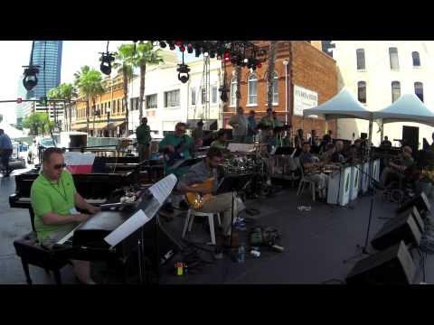 "Mica Bethea BigBand ""The Necessary Blonde"" 2015 Jax Jazz Fest"