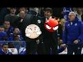 Nyaris Adu Jotoss!!  Antonio Conte Vs Jose Mourinho