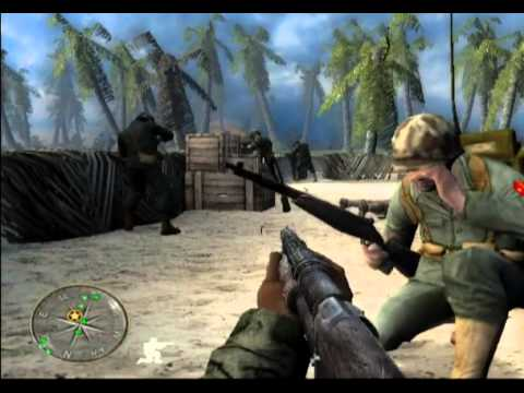 Call of Duty World at War Final Fronts Walkthrough part 1 of 3 HD (PS2)