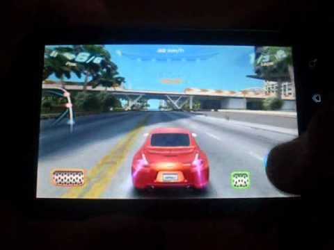 Huawei u8800/ ideos x5 asphalt 6 gameplay