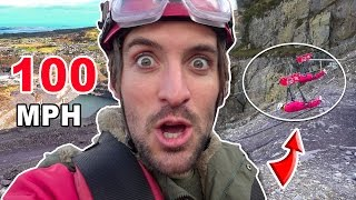 WORLD'S FASTEST ZIP LINE! | Wales, United Kingdom  ????