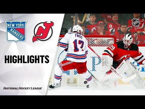 09/20/19 Condensed Game: Rangers @ Devils