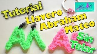 ♥ Tutorial: Llavero Abraham Mateo de gomitas (sin telar) ♥