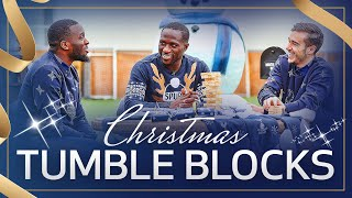 SPURS CHRISTMAS TOWER BLOCKS | Ft. Moussa Sissoko, Tanguy Ndombele and Harry Winks