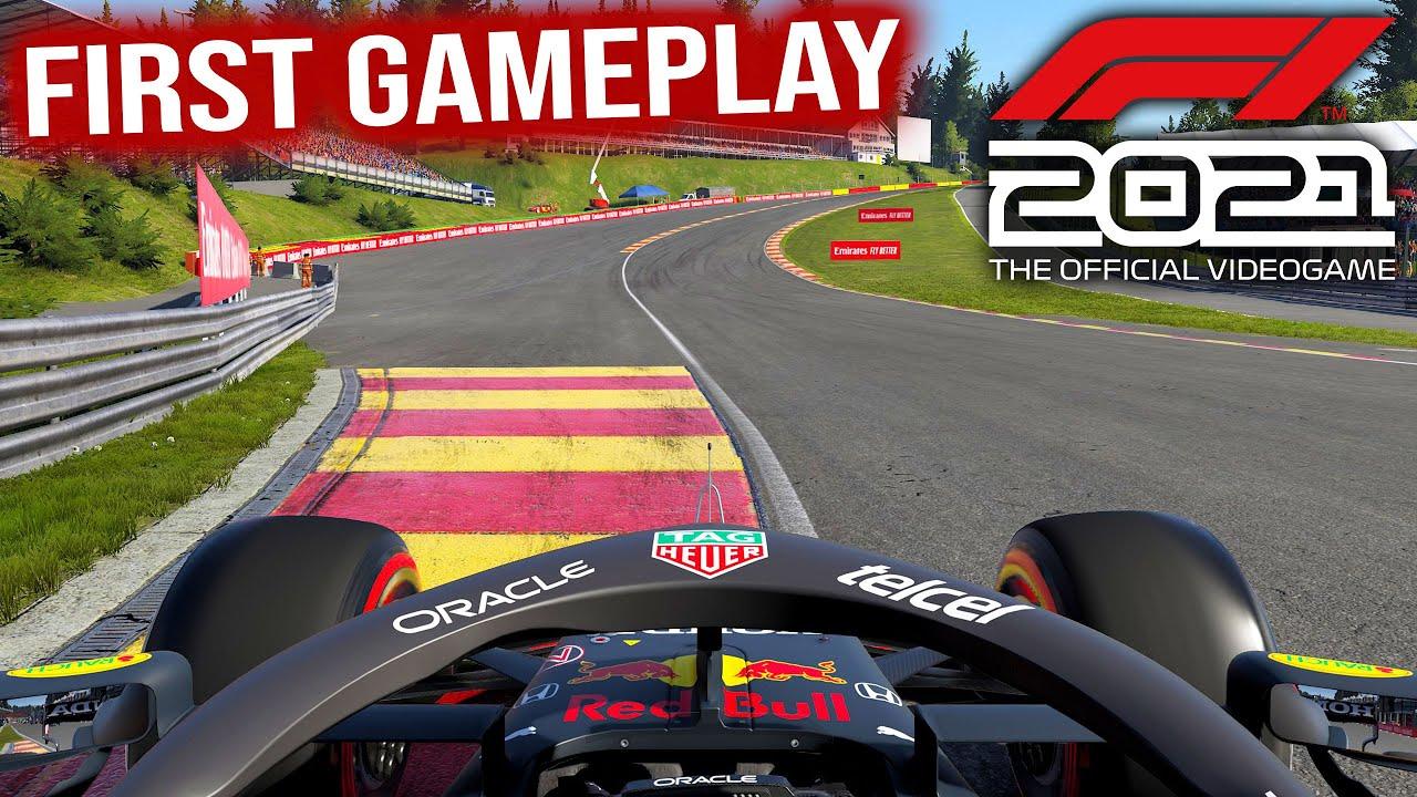 F1 2021 Gameplay - Handling, AI & Damage Improvements (Verstappen @ Spa)