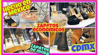 Tienda de Calzado Nacional de Calidad y Economico/ Mixcalco/CDMX/TOUR TIENDA