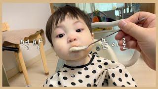 이유식 거부 끝!!!! 14개월 아기 이로의 유아식 먹…