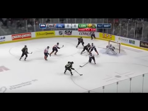 Flint Firebirds at London Knights OHL Game 1/8/16
