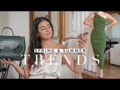 Spring/Summer 2020 Trends I'm Loving: Wardrobe Planning