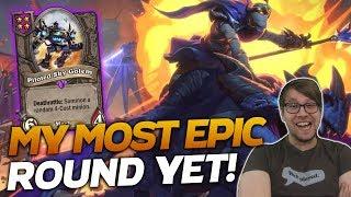 My MOST EPIC Round Yet! | Hearthstone Battlegrounds | Savjz