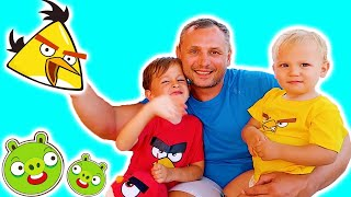 Angry Birds Парк - Активный отдых с детьми