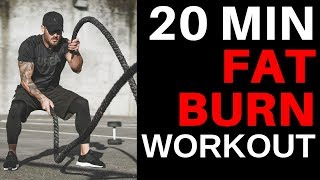20 MIN FAT BURN HIIT WORKOUT –  Cardio doesn't have to be boring!