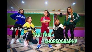 Taki Taki - DJ Snake Ft. Dikshya Thakuri | Dance Choreography | Step Up Dhading