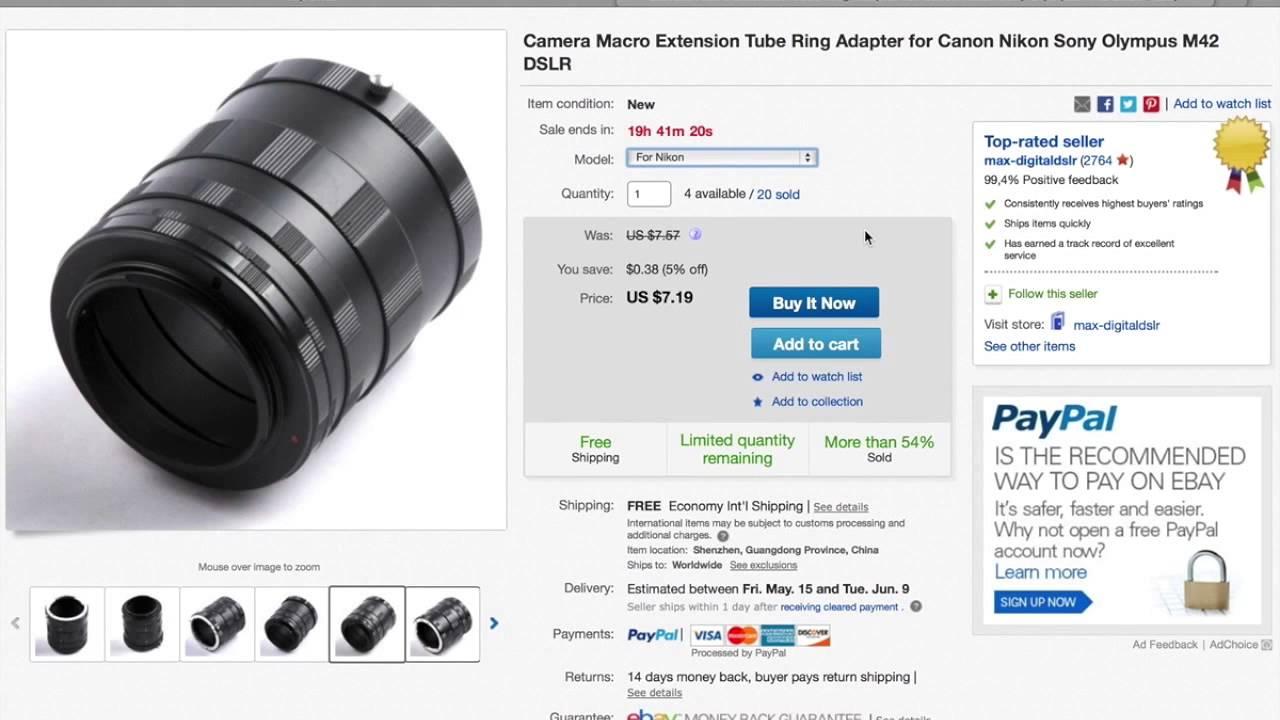 инструкция заказа с ebay