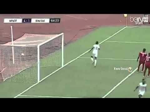 Guinea Bissau vs Congo 2 4. All Goals. CAN Qualification 5/9/2015