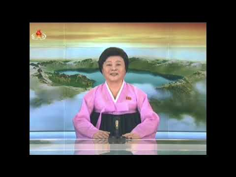 KCTV footage - North Korea announces first test of Hwasong-15 ICBM