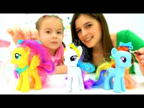 👑 #ЛитлПони на Конкурсе Красоты! Игры одевалки #длядевочек Видео игрушки для детей