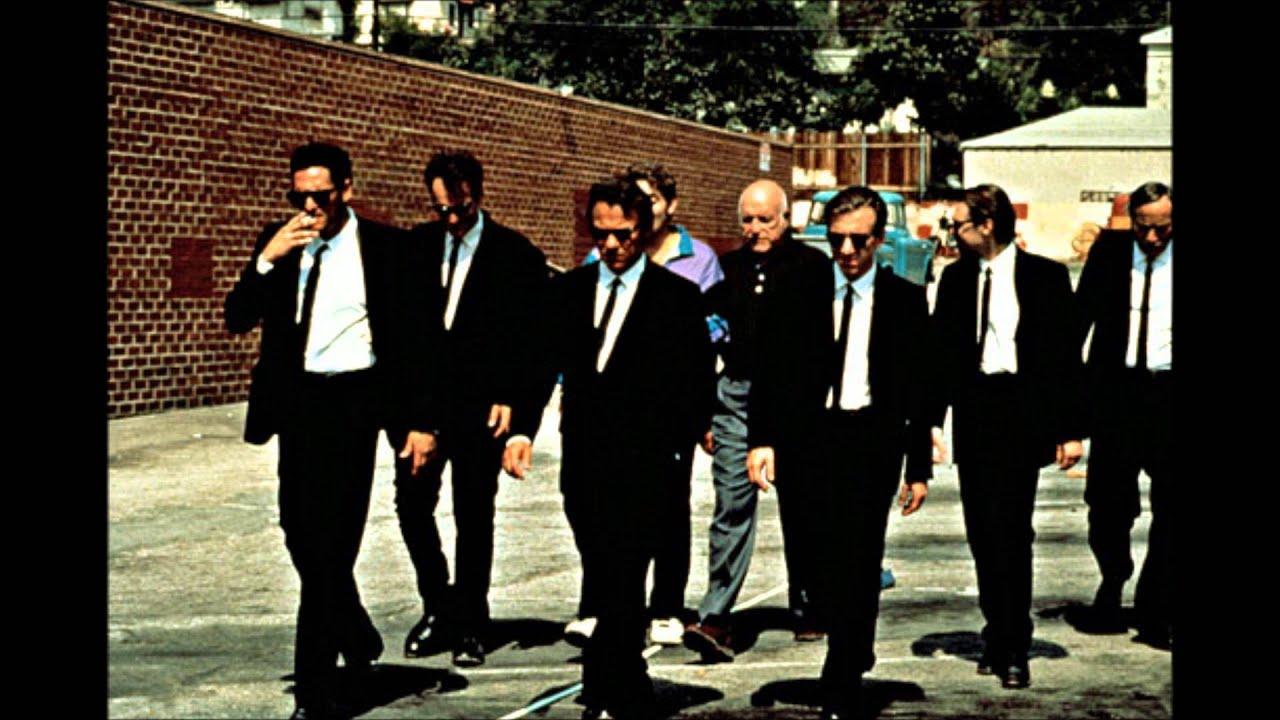 Reservoir Dogs Walking Scene