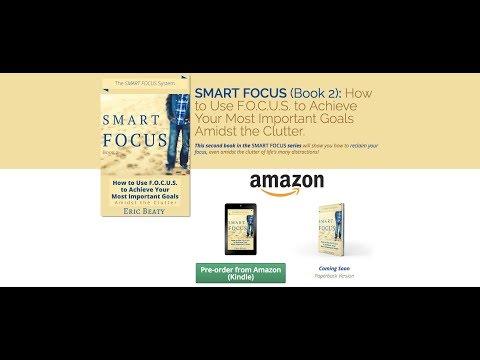 SMART FOCUS Book 2 Pre order & Launch! Discussing FOCUS Goals