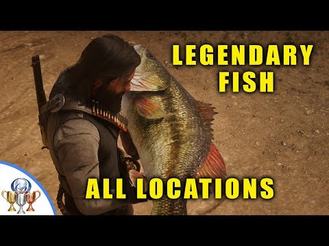 Red Dead Redemption 2 - All Legendary Fish Locations, Special Lures and Fisher of Fish Mission