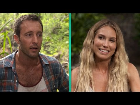Exclusive Alex Oloughlin And Sarah Carter Dish On Their Hot New Hawaii Five 0 Romance