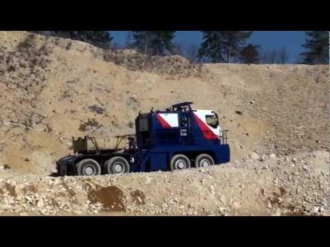 NICOLAS Tractomas Mining Truck