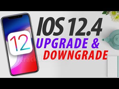 iOS 12.4 A12 Jailbreak Prep - How to Downgrade & Jailbreak! (Demo)