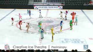 Creative Ice Theatre Preliminary Team Free Skate 2019 Theater on Ice Nationals