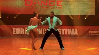 Kike y Xiomar  Salsa Show Euro Dance Festival 2017