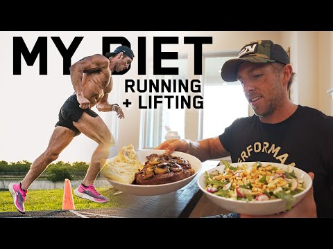 What I Eat To Maintain Muscle + Run Everyday | FULL DAY OF EATING