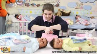 Box packing reborn doll Twins Jonah and ...