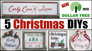 DOLLAR TREE CHRISTMAS DIY Decor 2019 | 5 Dollar Tree Christmas DIYs | Momma From Scratch