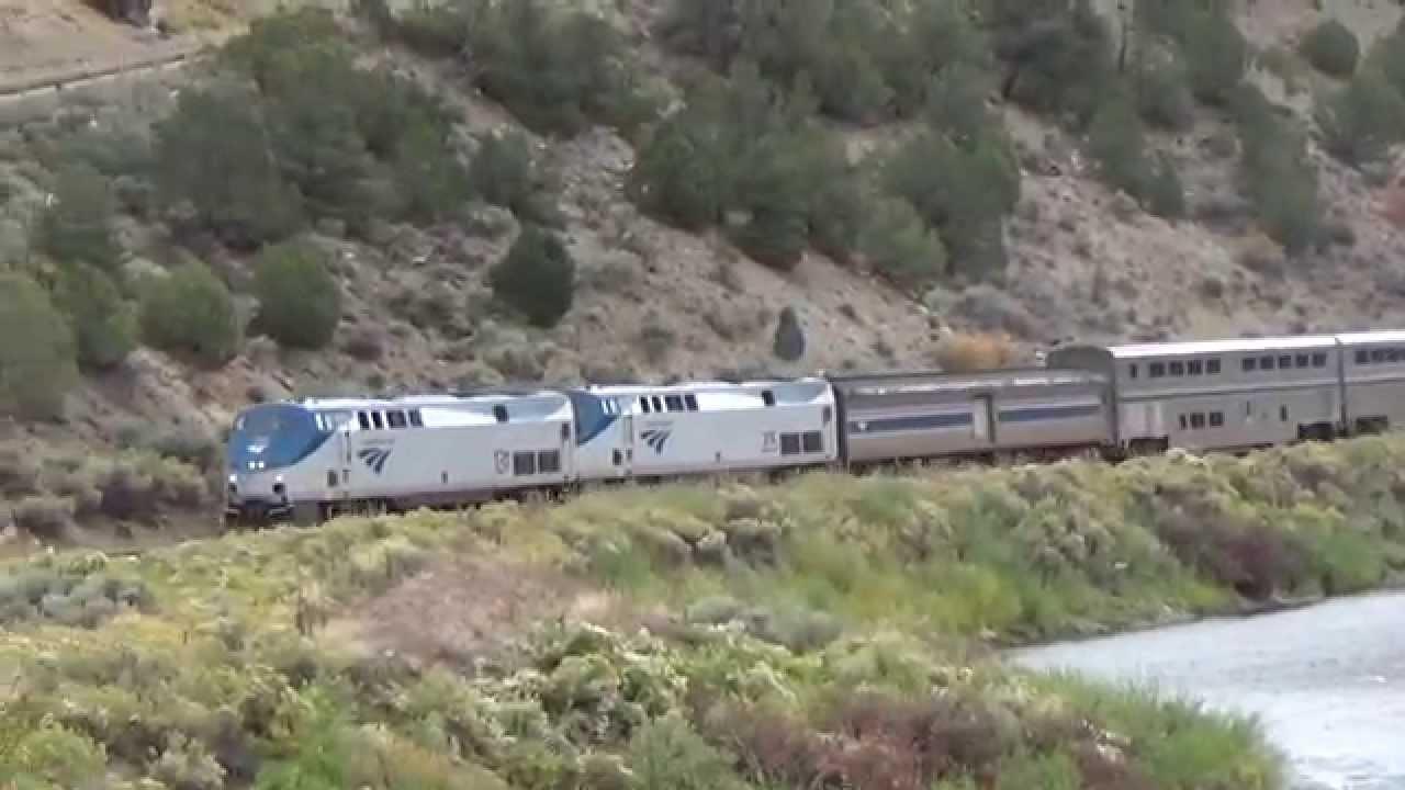 Amtrak Mooning Pictures mooning gunn at state bridge on amtrak part 1