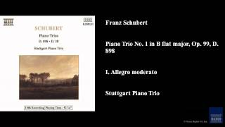 franz schubert piano trio no 1 in b flat major op 99 d 898 i allegro moderato