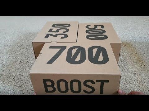 box yeezy 700
