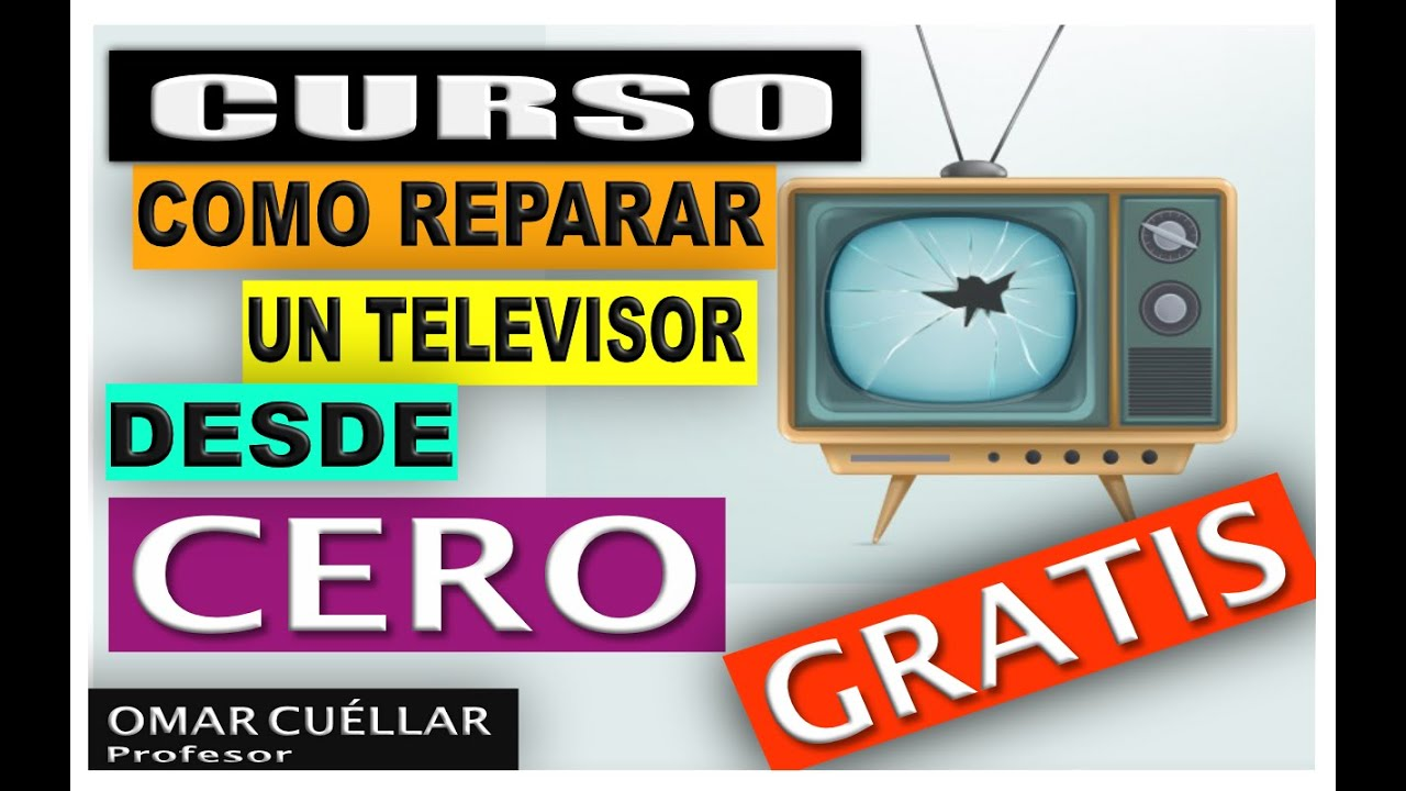 Como reparar un televisor desde cero funnydog tv for Reparar pantalla televisor samsung