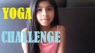 Mi primer vídeo ft EntreteYenni/Yoga challenge(Me divertí grabando este vídeo)/Elena Adorada thumbnail