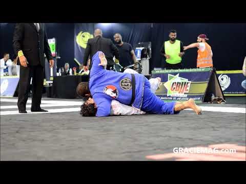 """Jiu-Jitsu: O """"abafa"""" de Duzão Lopes pelo ouro absoluto no Mundial da CBJJE"""