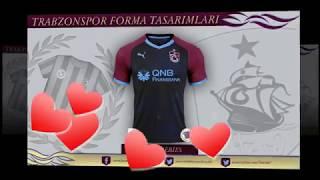 Trabzonspor Forma Tasarımları (Puma ve Macron)