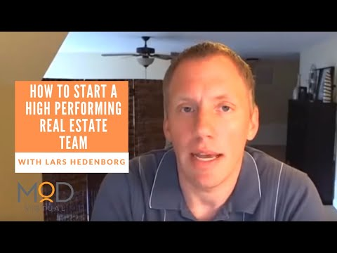 """""""The Ultimate Blueprint for High Performing Real Estate Teams with special guest Lars Hedenborg 1"""