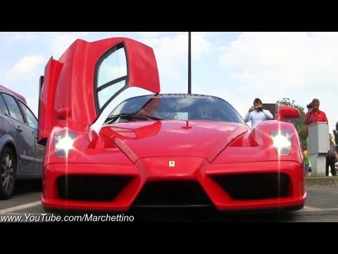 Ferrari Enzo - Michael Jackson Driving it?!