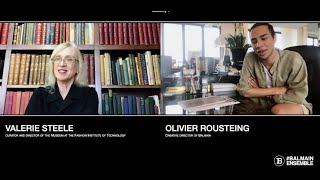 Balmain Heritage Talks Ep. 1 Olivier Rousteing invite Valerie Steele (Director of The Museum at FIT)