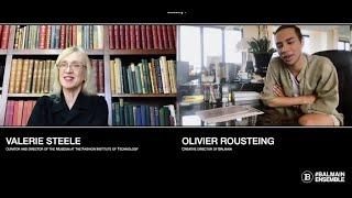 Balmain Heritage Talks - Ep. 1 Olivier Rousteing invite Valerie Steel (FIT Director)