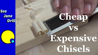 Cheap vs Expensive Chisels: Who wins?